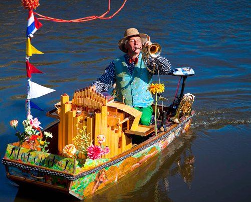 Muziekboot De Notendop | Amsterdam en de Jordaan